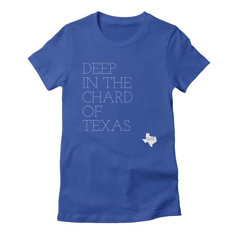 deep in the chard Women's Fitted T-Shirt by dream harvest's Artist Shop