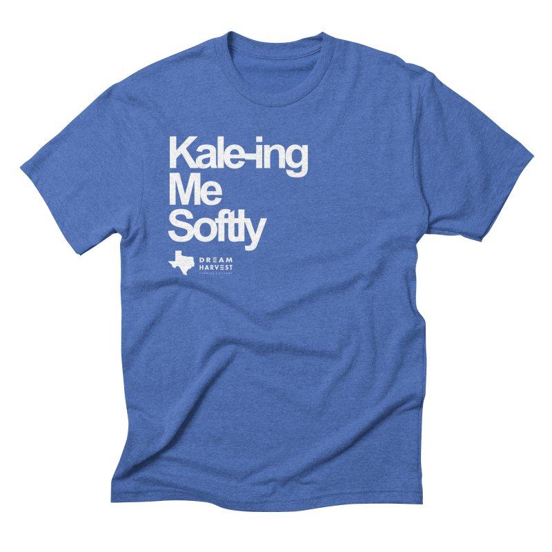Kale-ing Me Softly Men's T-Shirt by dream harvest's Artist Shop
