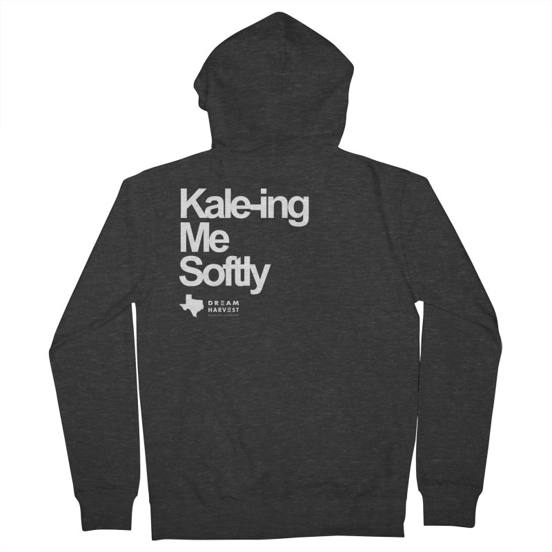 Kale-ing Me Softly Men's French Terry Zip-Up Hoody by dream harvest's Artist Shop