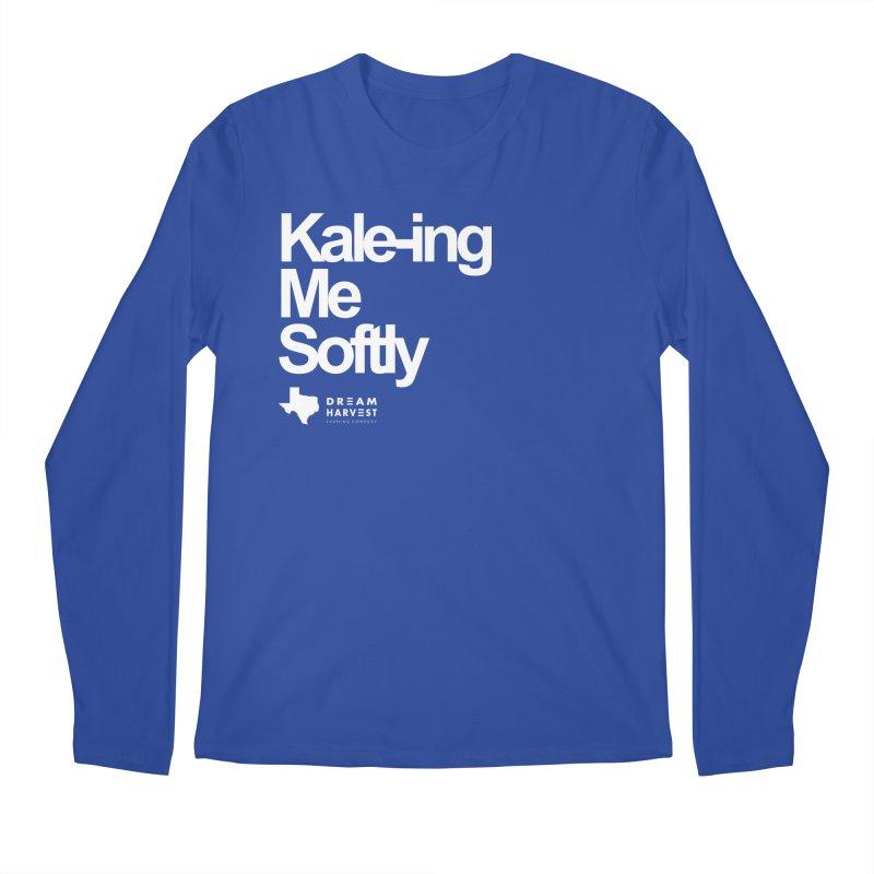 Kale-ing Me Softly Men's Regular Longsleeve T-Shirt by dreamharvest's Artist Shop