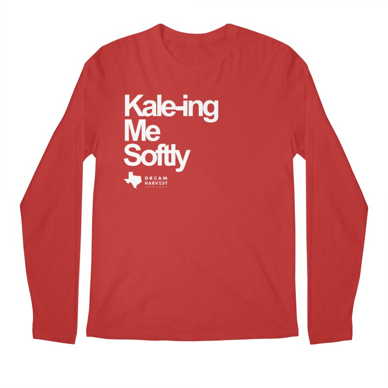Kale-ing Me Softly Men's Regular Longsleeve T-Shirt by dreamharvest's Artist Shop