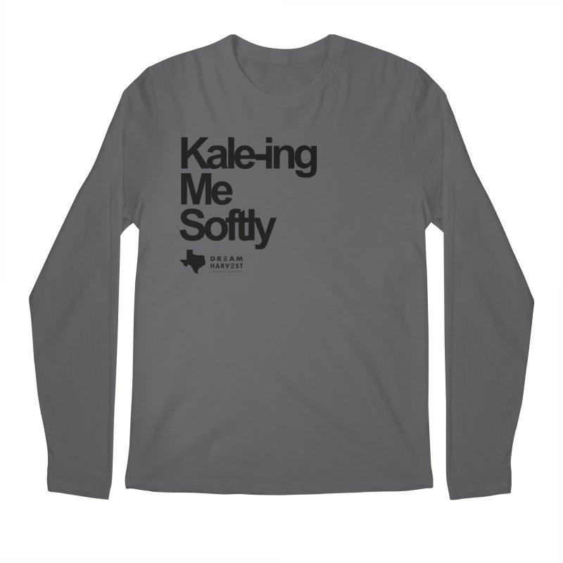 Kale-ing Me Softly Men's Longsleeve T-Shirt by dream harvest's Artist Shop