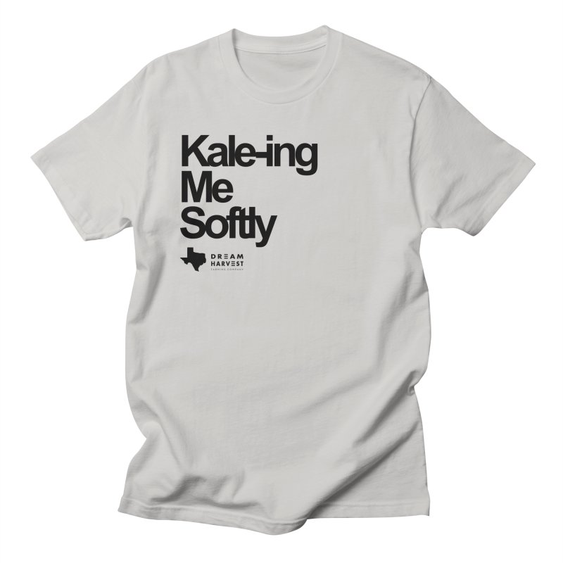 Kale-ing Me Softly in Men's Regular T-Shirt Stone by dreamharvest's Artist Shop