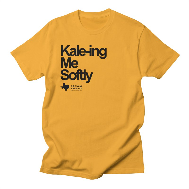 Kale-ing Me Softly Men's Regular T-Shirt by dream harvest's Artist Shop
