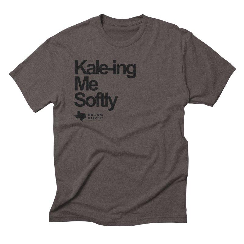 Kale-ing Me Softly Men's Triblend T-Shirt by dream harvest's Artist Shop