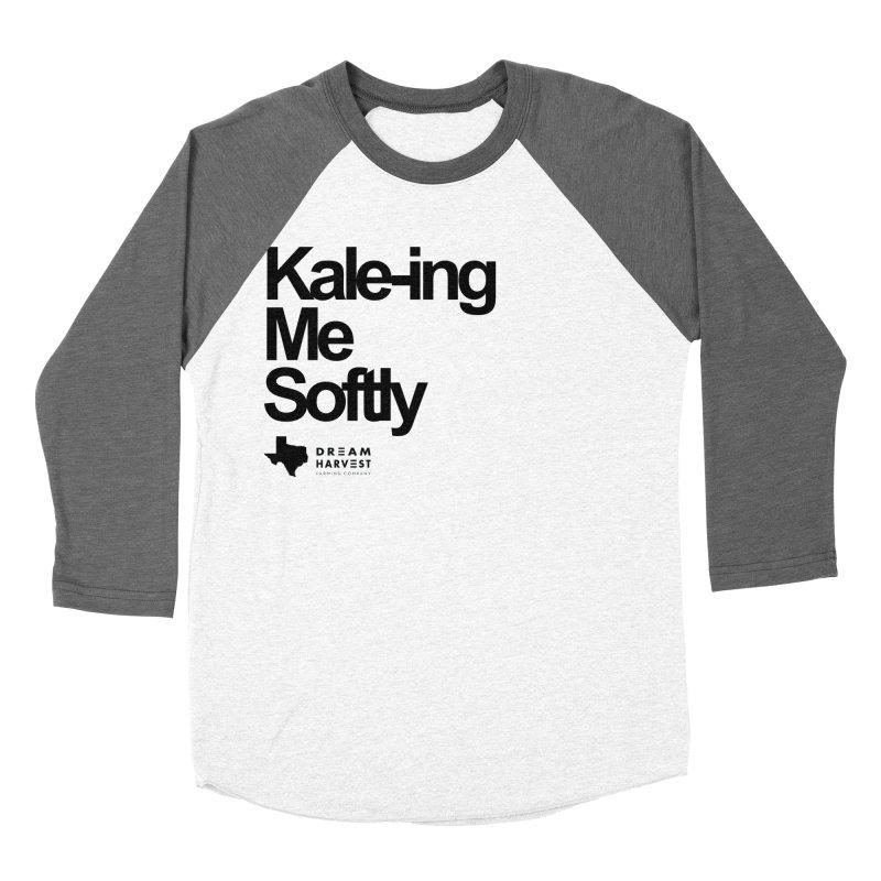 Kale-ing Me Softly Men's Baseball Triblend T-Shirt by dreamharvest's Artist Shop