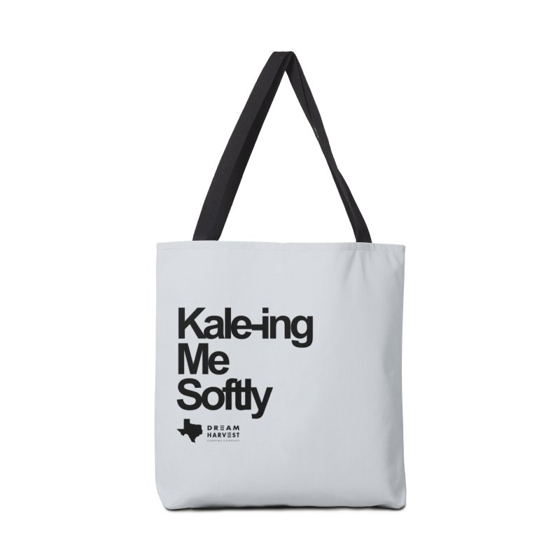 Kale-ing Me Softly Accessories Tote Bag Bag by dream harvest's Artist Shop