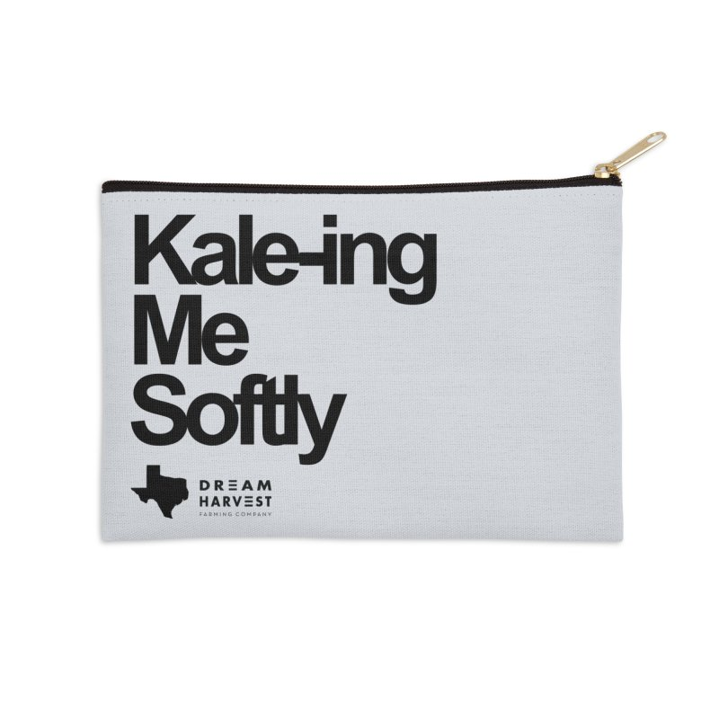 Kale-ing Me Softly Accessories Zip Pouch by dreamharvest's Artist Shop