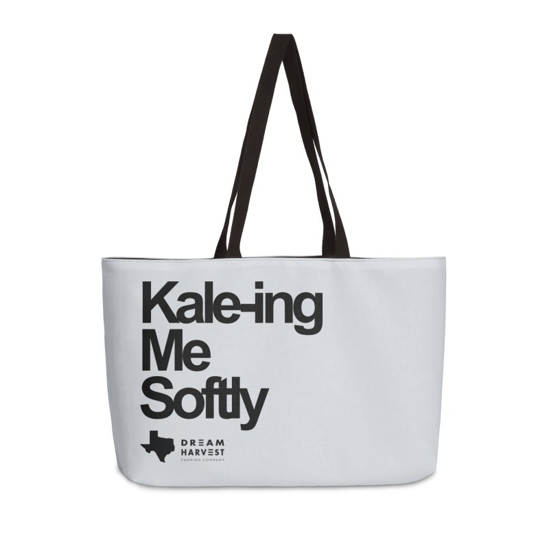 Kale-ing Me Softly in Weekender Bag by dreamharvest's Artist Shop