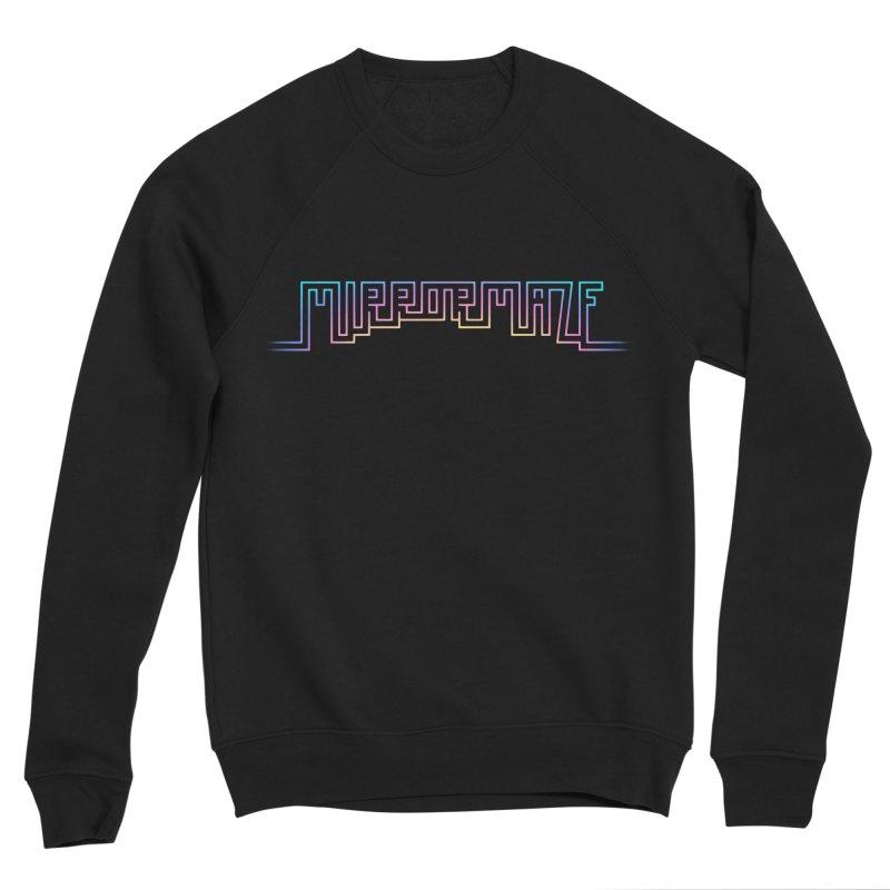 Mirrormaze (Sunset) Women's Sweatshirt by Cliff's Dreampunk Shop