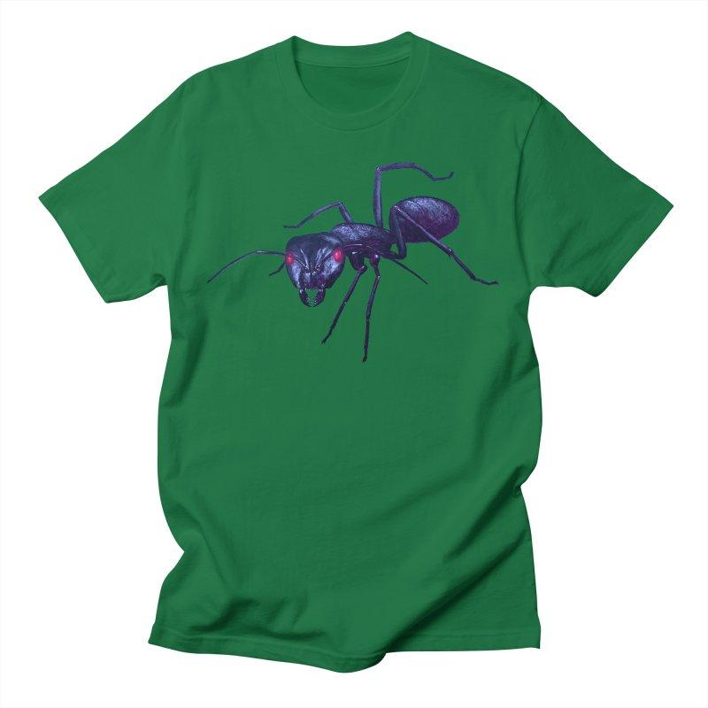 Electric Ant Men's T-Shirt by Cliff's Dreampunk Shop