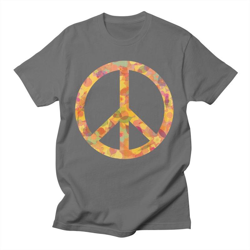 Beauty of Peace Men's T-Shirt by Dreams by Design's Artist Shop