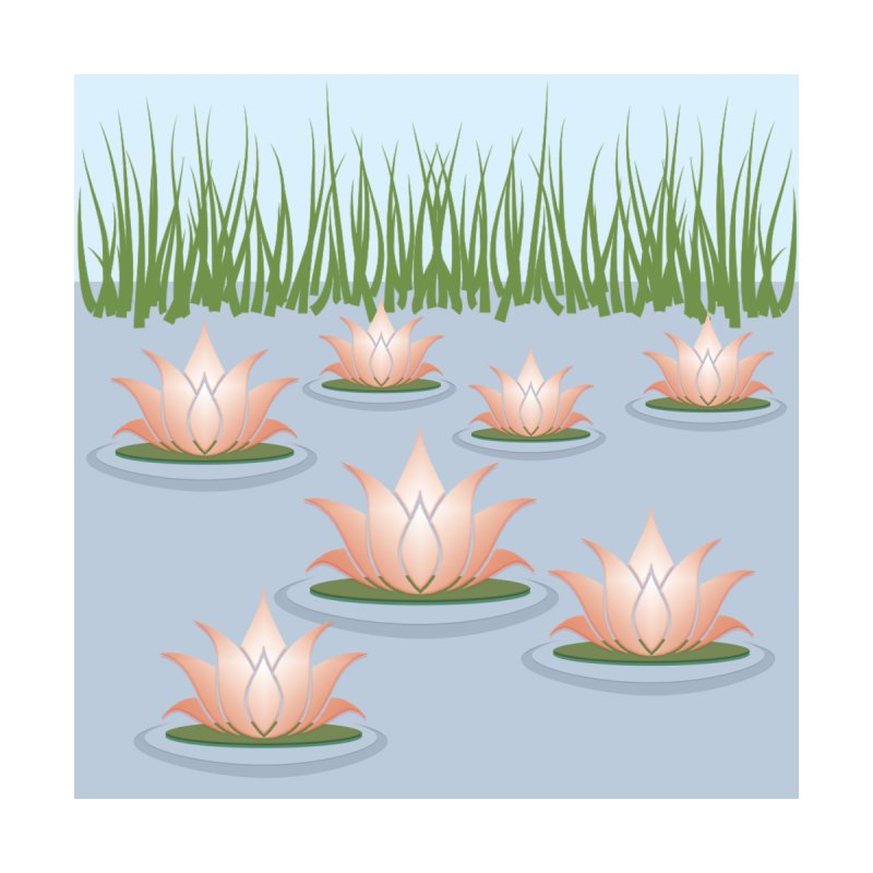 Lotus Pond by Dreams by Design's Artist Shop