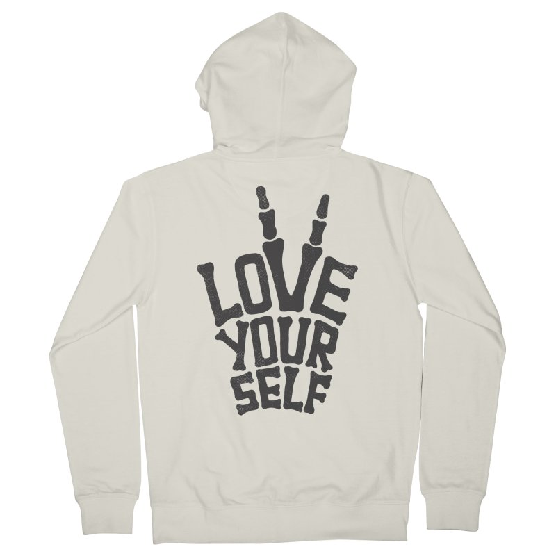 Love Yourself Men's Zip-Up Hoody by dreamspace's Shop