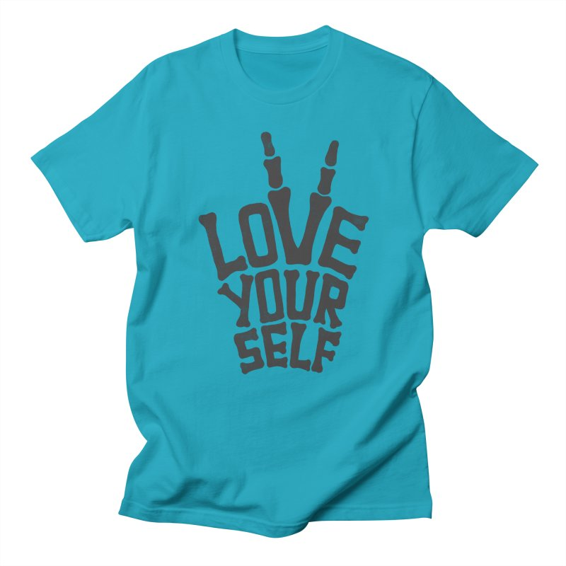 Love Yourself Men's T-Shirt by dreamspace's Shop