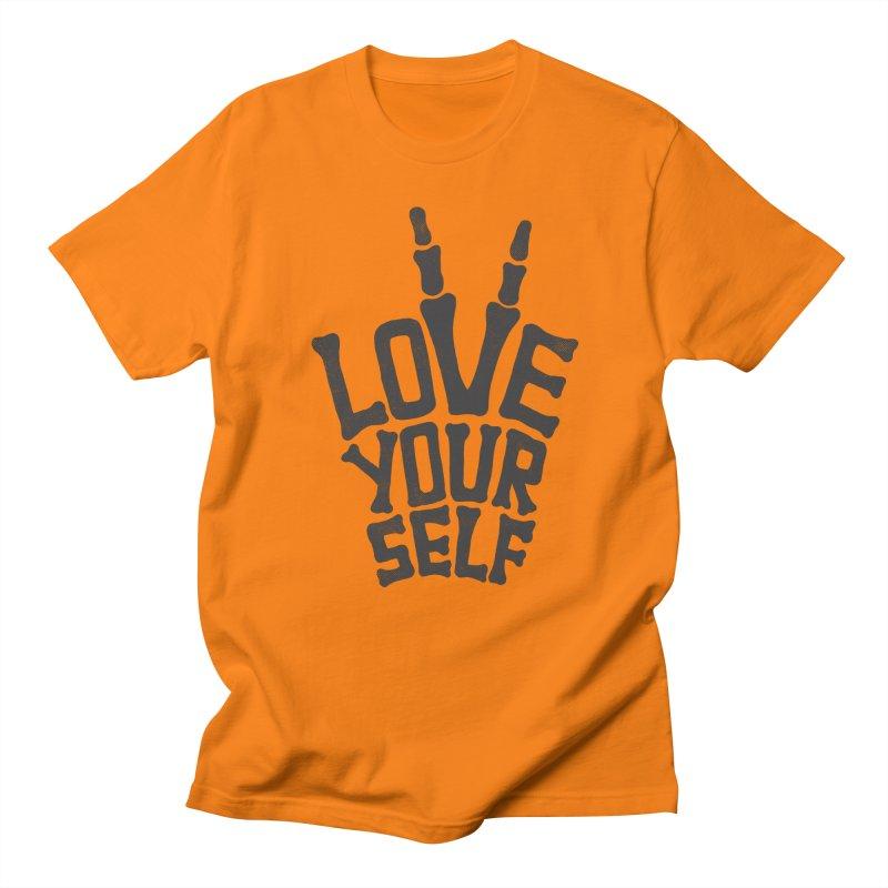 Love Yourself Men's T-shirt by dreamspace's Shop