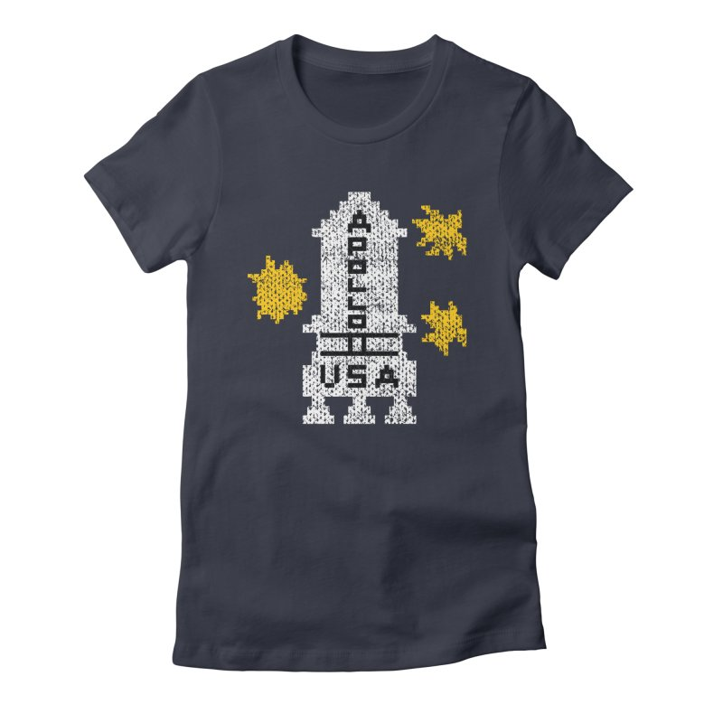 Danny's Sweater Women's Fitted T-Shirt by Drew Wise