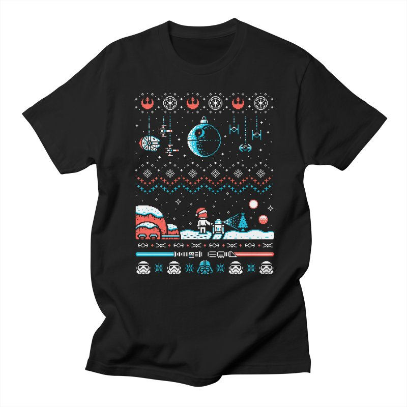 Holiday Far, Far Away Men's T-Shirt by Drew Wise