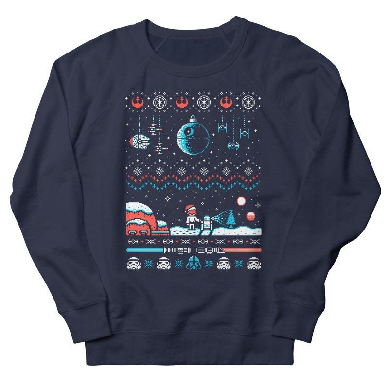 Holiday Far, Far Away Men's Sweatshirt by Drew Wise