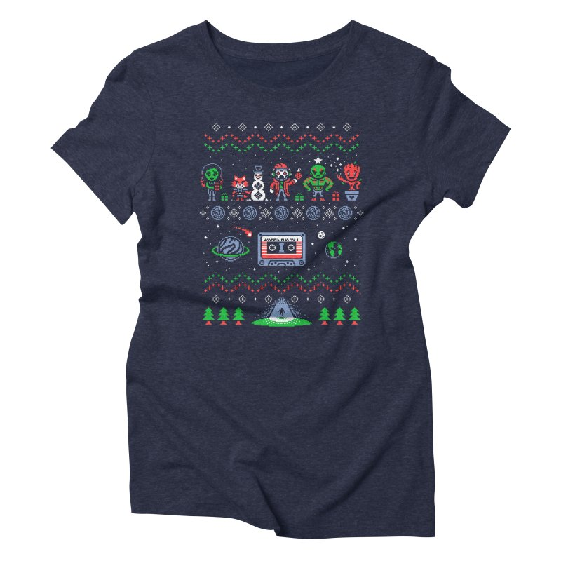 Holiday Guardians Women's Triblend T-Shirt by Drew Wise