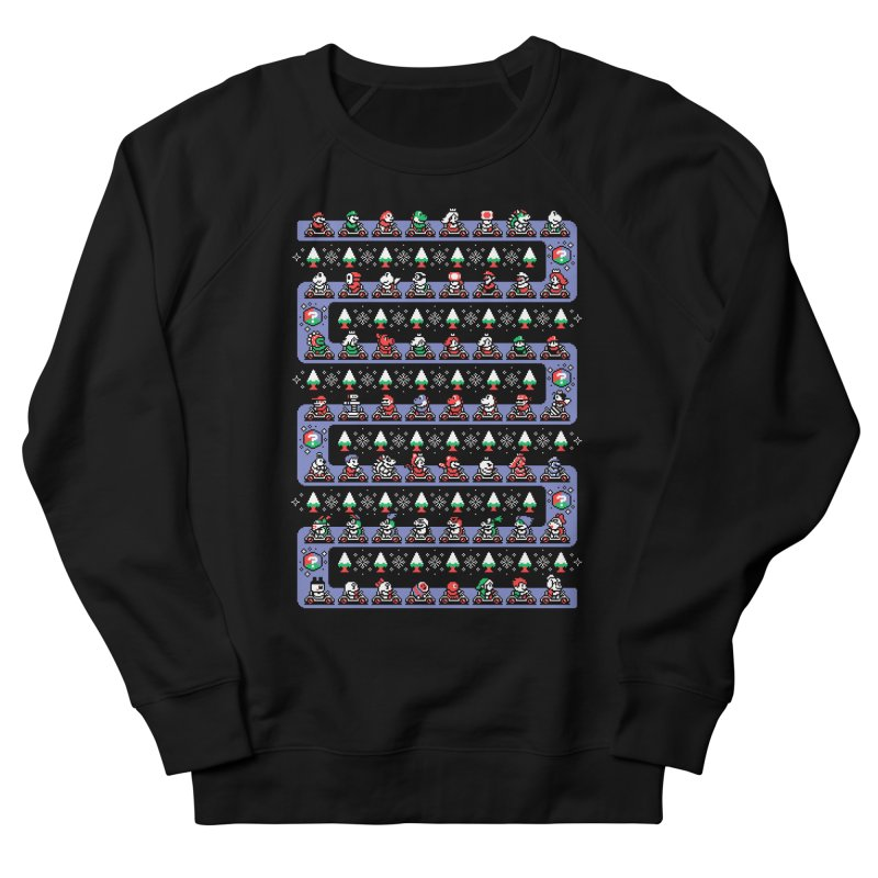 Super Holiday Kart Men's Sweatshirt by Drew Wise