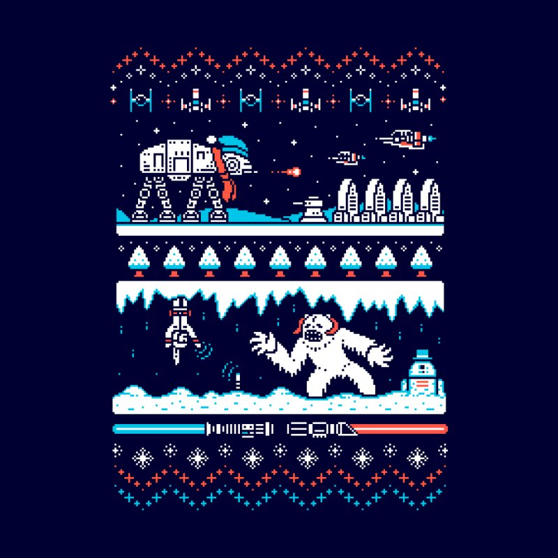 Winter Strikes Back!   by Drew Wise