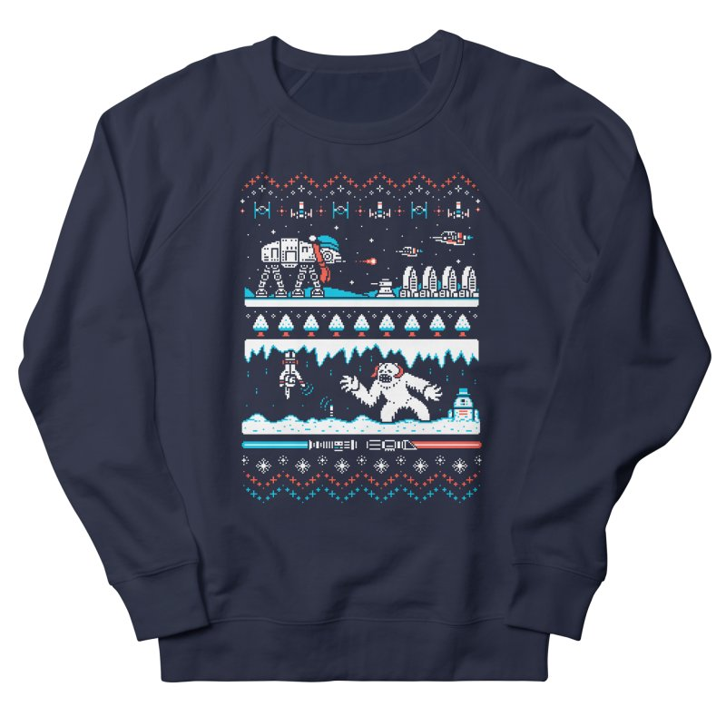 Winter Strikes Back! Men's Sweatshirt by Drew Wise