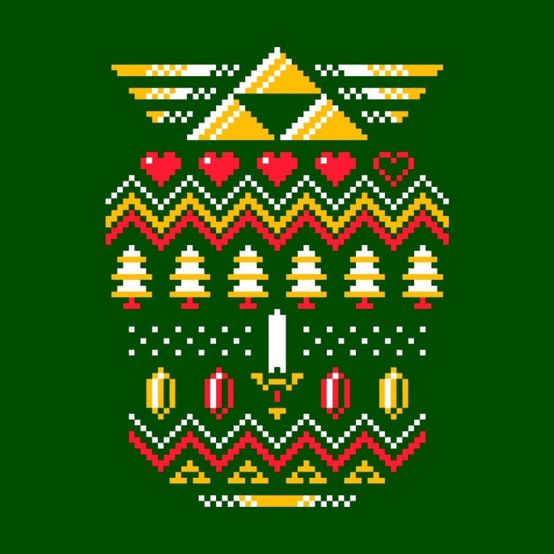 Triforce Holiday None  by Drew Wise