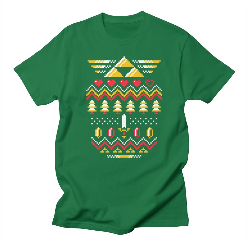 Triforce Holiday Men's T-Shirt by Drew Wise
