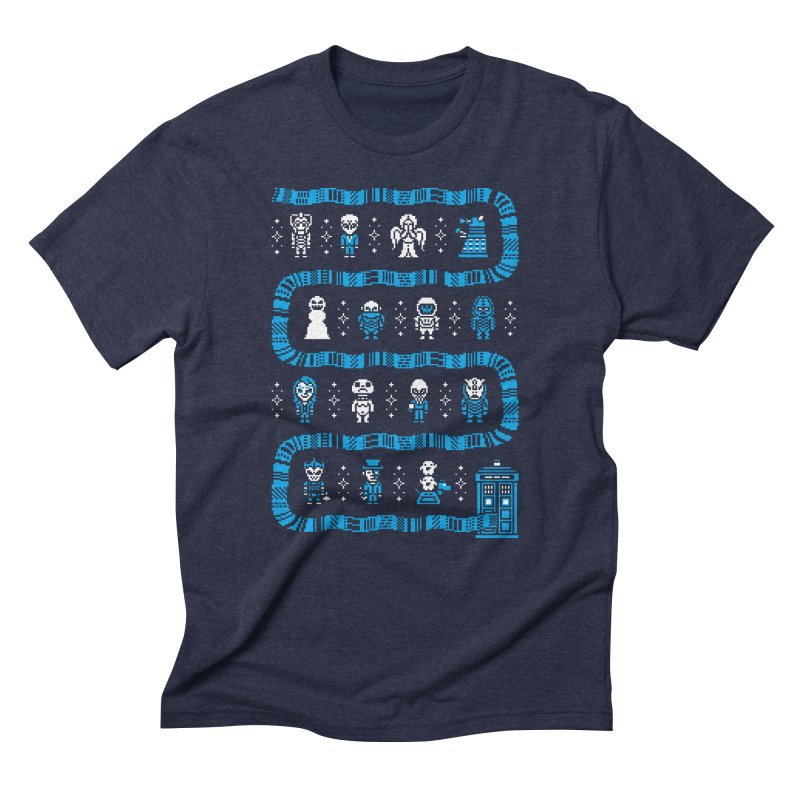 Who's Outside? Men's Triblend T-Shirt by Drew Wise