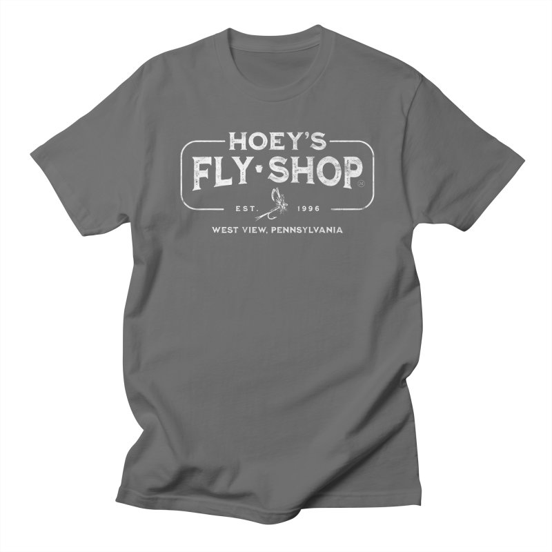 Hoey's Fly Shop - All Proceeds will be donated to charity in Jim's Memory Men's T-Shirt by Drifter7Design's Artist Shop