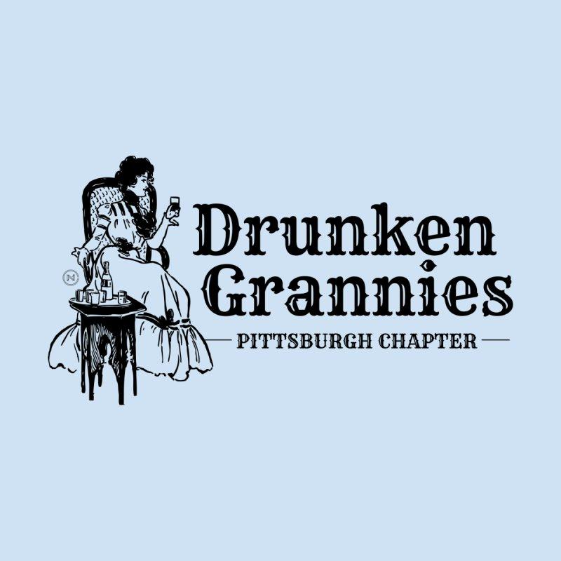 Drunken Grannies - Solid Black Edition Women's T-Shirt by Drifter7Design's Artist Shop