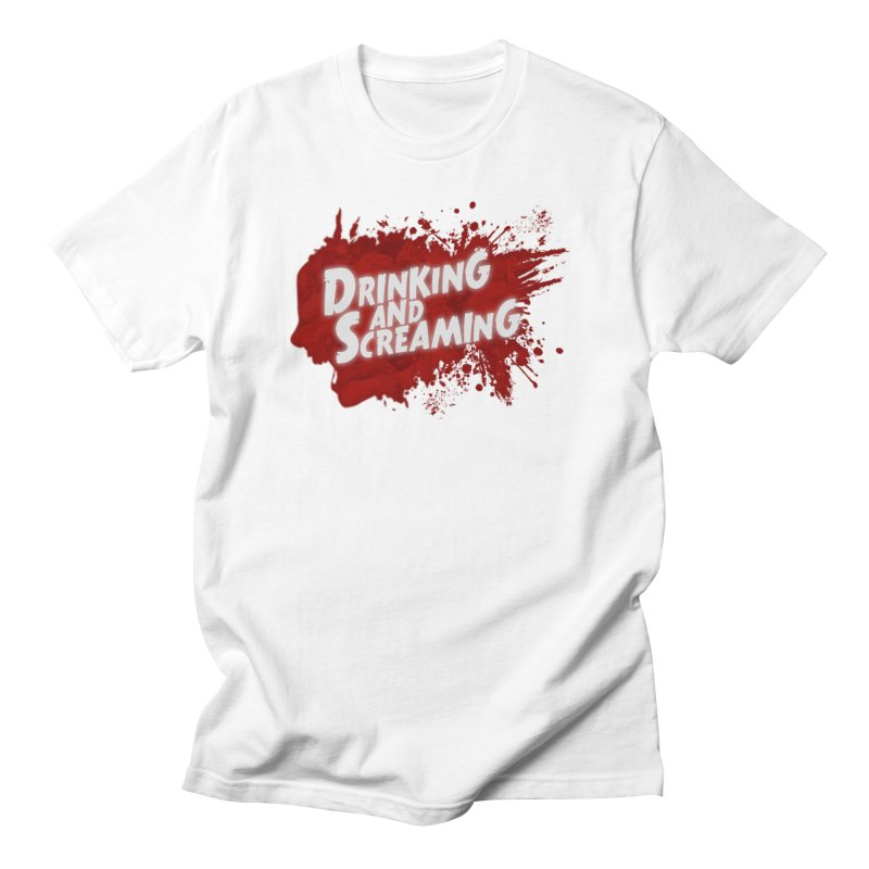 Drinking And Screaming Logo Men's T-Shirt by Drinking And Screaming's Shop