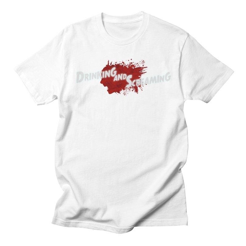 Drinking And Screaming Logo - Long Men's T-Shirt by Drinking And Screaming's Shop