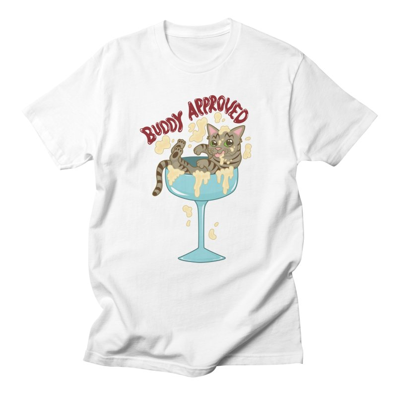 Buddy Approved - Cocktail Glass Men's T-Shirt by Drinking And Screaming's Shop