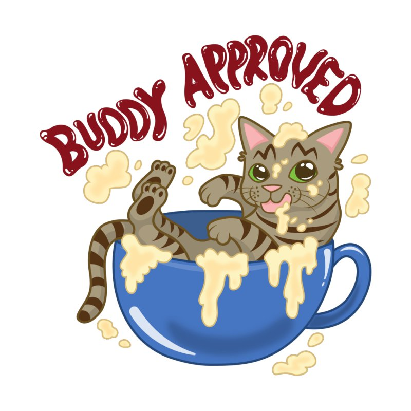Buddy Approved - Mug Men's T-Shirt by Drinking And Screaming's Shop