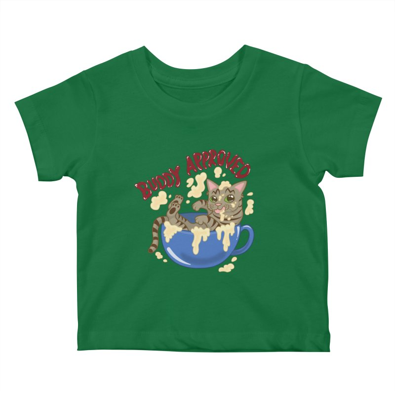Buddy Approved - Mug Kids Baby T-Shirt by Drinking And Screaming's Shop