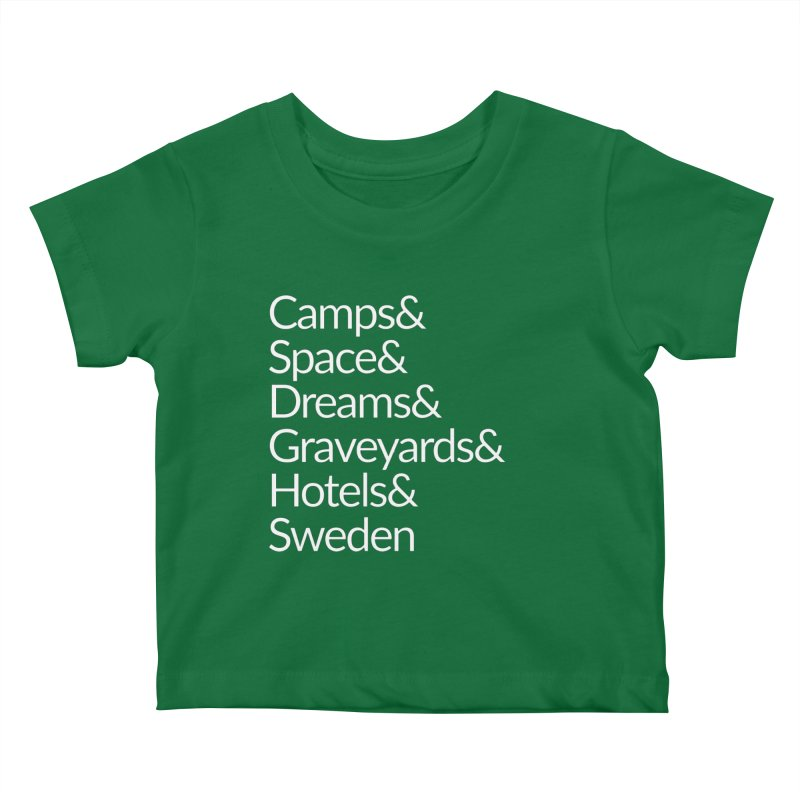 Camps&Space White Kids Baby T-Shirt by Drinking And Screaming's Shop
