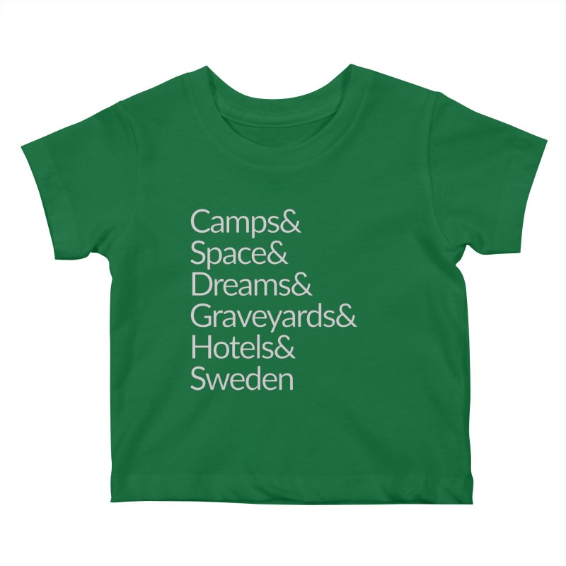 Camps&Space Grey Kids Baby T-Shirt by Drinking And Screaming's Shop