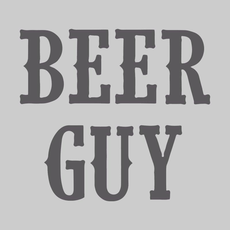Beer Guy Men's T-Shirt by Drinking Humor