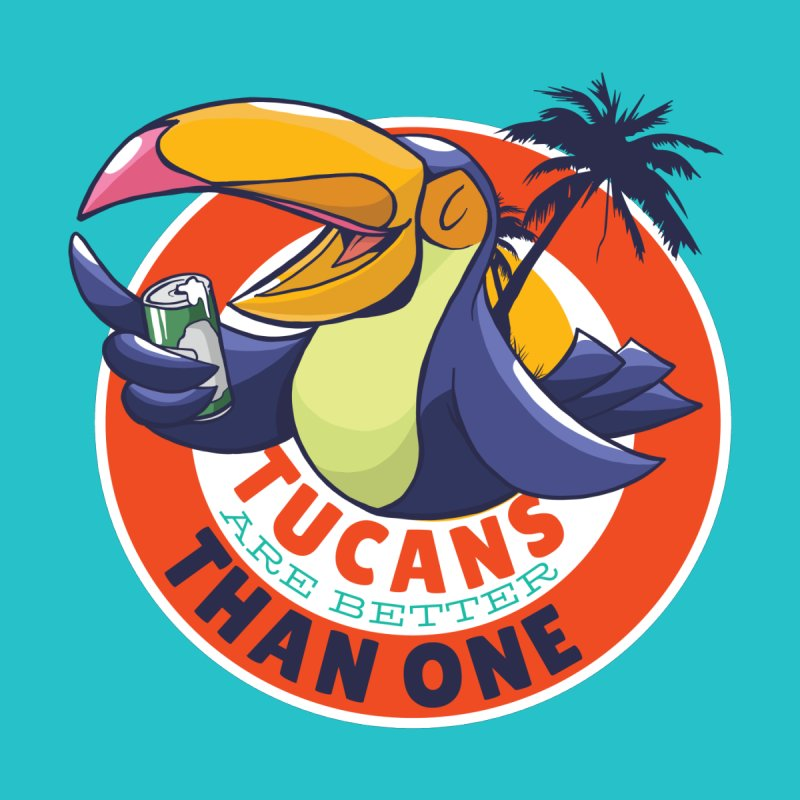 Tucans Are Better Than One Women's V-Neck by Drinking Humor