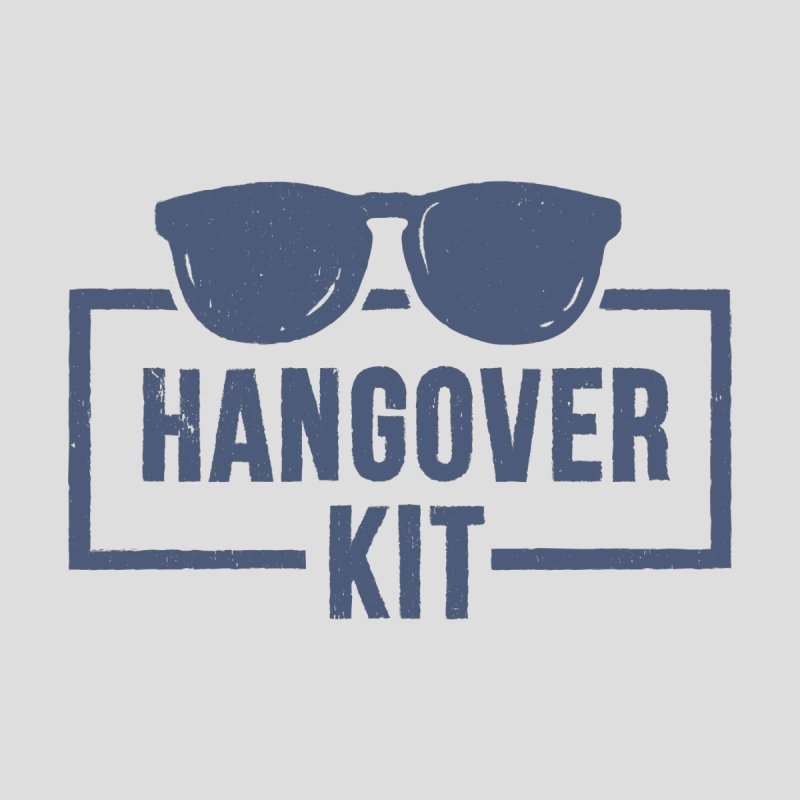 Hangover Kit Men's T-Shirt by Drinking Humor