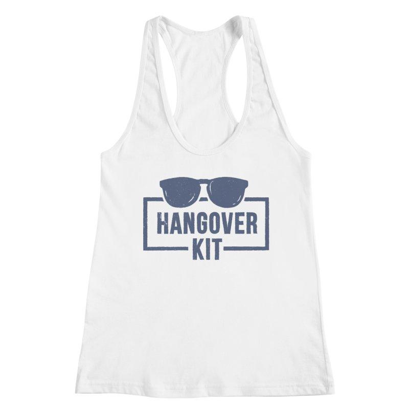 Hangover Kit Women's Tank by Drinking Humor