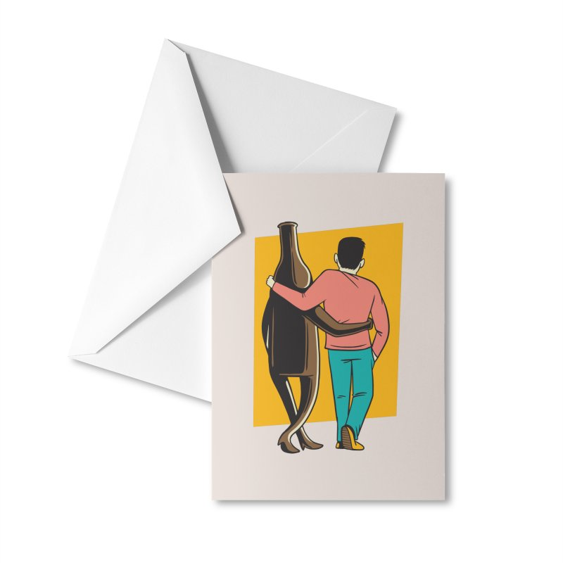 Drinking Buddies Accessories Greeting Card by Drinking Humor