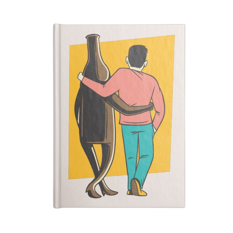 Drinking Buddies Accessories Notebook by Drinking Humor