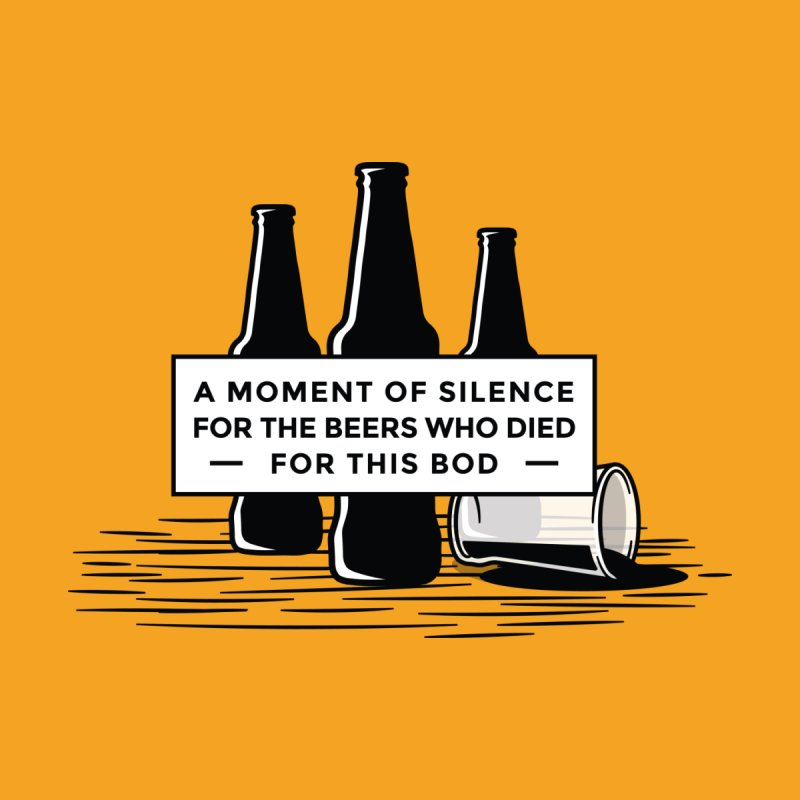A Moment Of Silence Men's T-Shirt by Drinking Humor