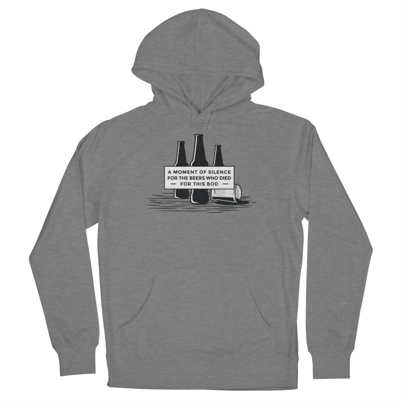 A Moment Of Silence Women's Pullover Hoody by Drinking Humor
