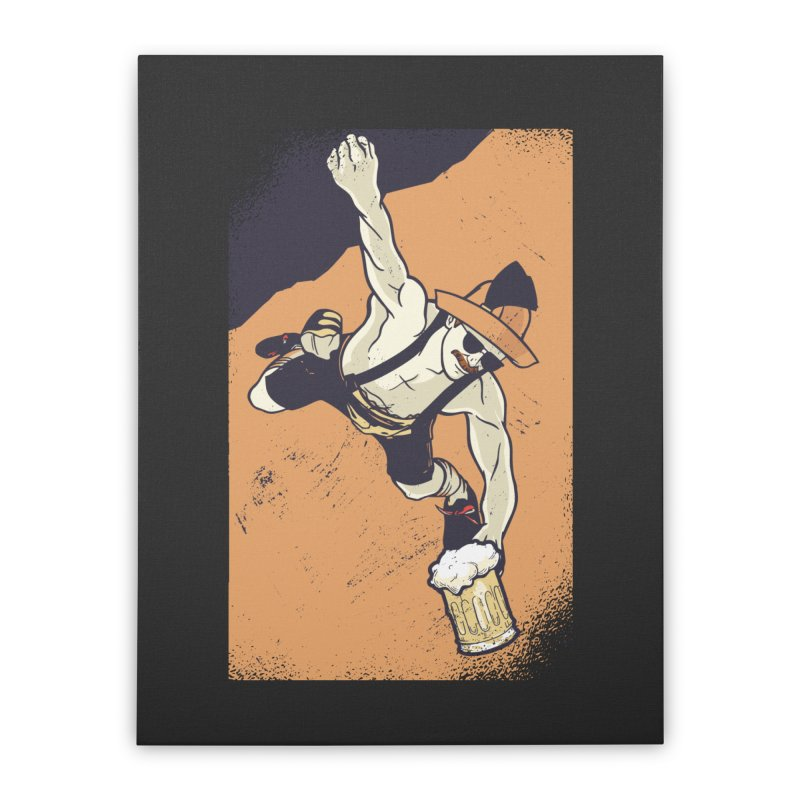 Bavarian Beer Home Stretched Canvas by Drinking Humor