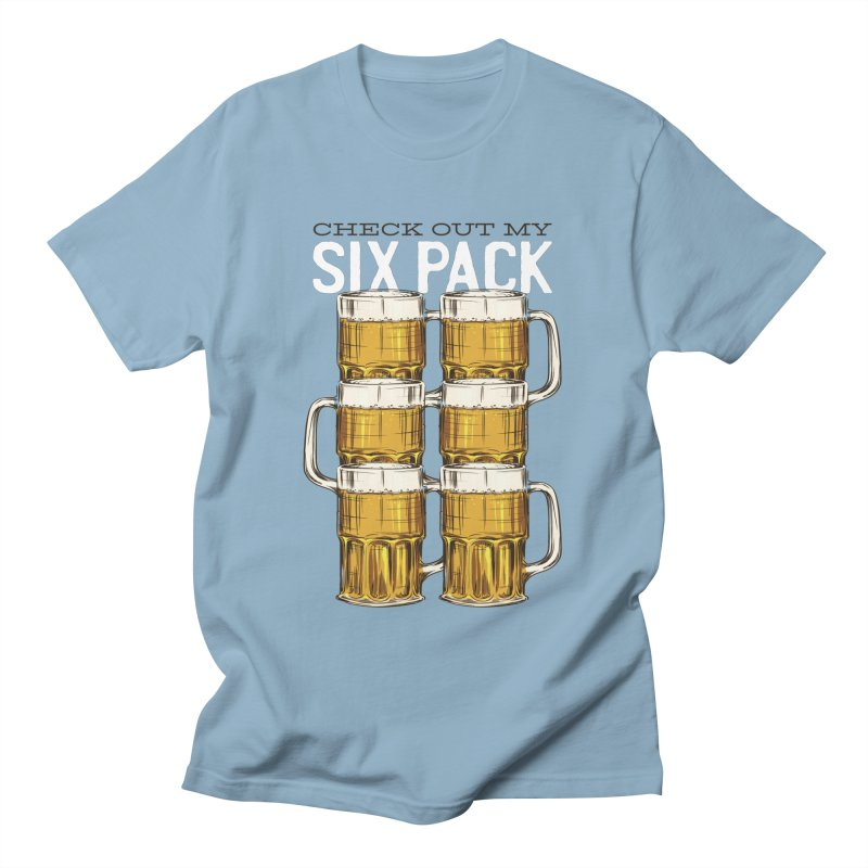 Check Out My Six Pack Men's T-Shirt by Drinking Humor