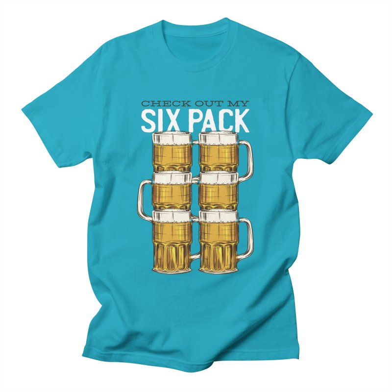 Check Out My Six Pack Women's T-Shirt by Drinking Humor